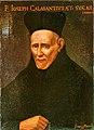 Kalazanci Szent József portréja a San Pantaleo rendházban, Rómában.jpg
