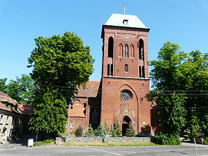 Bishopric of Cammin - Then Cathedral of St. John the Baptist, Cammin in Pomerania, now Concathedral in Kamień Pomorski