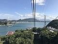 Kammonkyo Bridge from Hinoyama Ropeway 1.jpg