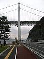 Kanmon bridge from Shimonoseki (1555391463).jpg