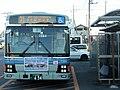 Kantetsu Purple Bus at Shimotsuma Station.jpg