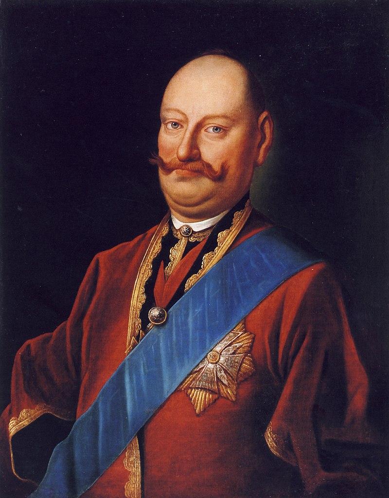 Карал Станислав Радзивил Пане Качанку.  Караль Станіслаў Радзівіл Пане Каханку (1767) .jpg