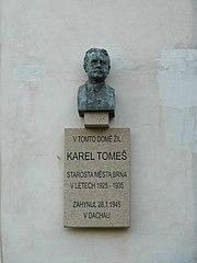 busta Karla Tomeše