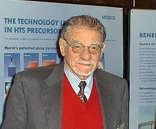 K. Alex Müller Swiss physicist