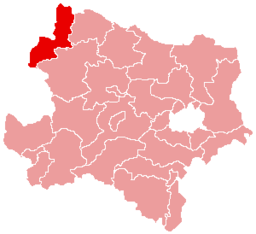 Bezirk Gmünd location map