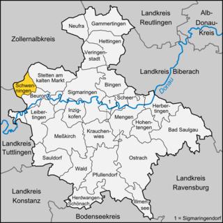 Schwenningen, Sigmaringen Place in Baden-Württemberg, Germany