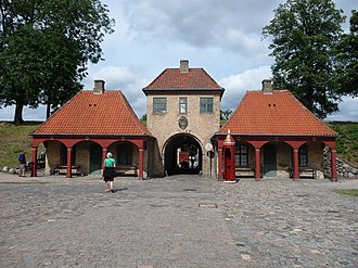 Kastellet, Copenhagen - The interior side of the North Gate