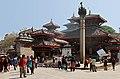Kathmandu-Durbar Square-20-Mini vor Vishnu-Pratapamalla-Jagannath-2013-gje.jpg