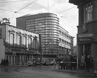 Schocken Department Store, Stuttgart - Schocken Department Store Stuttgart c1960