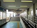 Kawama Station platform 01.jpg