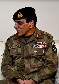 Ashfaq Parvez Kayani Pakistani general