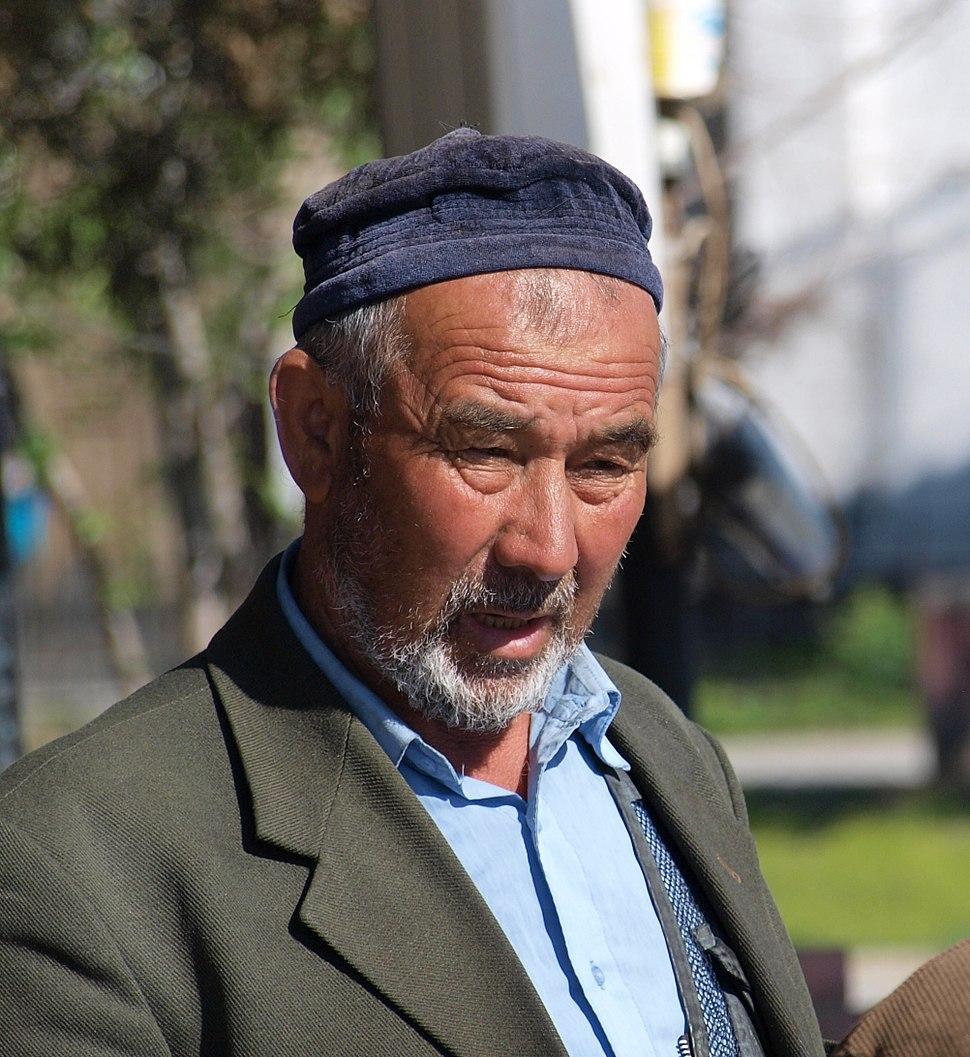 Kazakh man