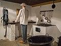 Kazemattenmuseum Kornwerderzand - Aanrecht in de keukenkazemat.jpg