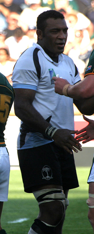 Kele Leawere - South Africa vs Fiji during 2007 Rugby World Cup