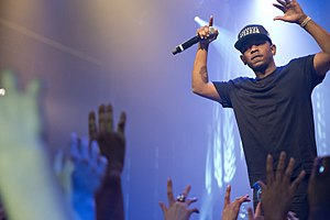"Born Sinner - Rapper Kendrick Lamar made an appearance on the album's third single ""Forbidden Fruit""."