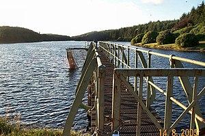 Dartmoor reservoirs - Image: Kennick Reservoir geograph.org.uk 37698