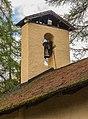 Kerktoren. Locatie, Kerk van San Rocco met daaromheen de militaire begraafplaats in Peio Paese 01.jpg