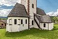 Keutschach Pfarrkirche hll Georg und Bartholomaeus NO-Teilansicht 03062017 9012.jpg