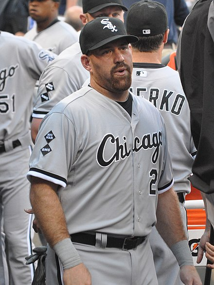 Youkilis with the Chicago White Sox Kevin Youkilis on June 26, 2012.jpg