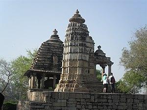 Lakshmi Temple, Khajuraho - Image: Khajuraho India, Lakshmi Temple & Varaha Temple