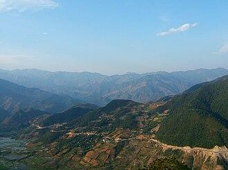 Yên Bái Province - Khau Phạ Pass in National Highway No.32 in Mù Cang Chải District