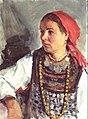 """Khrymov V.D. (1908 - 1958). """"Moksha woman"""". 1955.jpg"""