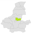 Khwaja Sabz Posh district location in map of Faryab province.png