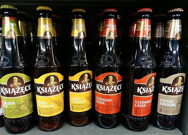 File:Kinds of Książęce beer.jpg
