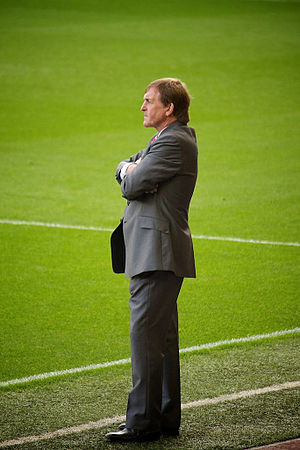 Kenny Dalglish, manager of Liverpool FC.