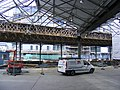 Kings Cross, goods shed reconstruction August 2013.jpg