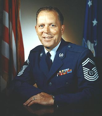 Chief Master Sergeant of the Air Force - Image: Kisling rd 3