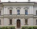 Klagenfurt Völkermarkter Vorstadt Mießtaler Strasse 24 Bürgerhaus N-Ansicht Risalit mit Portal 19082016 3820.jpg