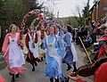 Knots of May Dancers in Alciston, East Sussex - geograph.org.uk - 732880.jpg