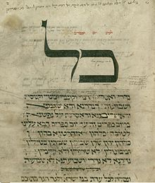 Kol nidre in the machzor of Worms.jpg
