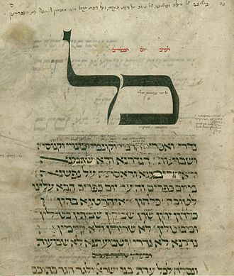 Kol Nidre - Image: Kol nidre in the machzor of Worms