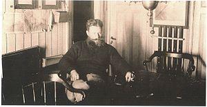 Nikolai Kolomeitsev - Kolomeitsev in the Zarya in 1900
