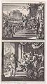 Koning Agrippa ziet een uil boven zijn troon - Koning Agrippa sterft omgeven door hovelingen.jpeg