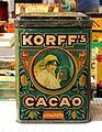 Korff's Cacao tin, 2,5Kilo Netto, pic3.JPG