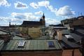 Kraków, ul. Św. Marka 20, kamienica, widok z trzeciego piętra w kierunku rynku głównego; fot. 5.png