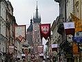 Kraków - ul.Floriańska (Floriańska street) - panoramio.jpg