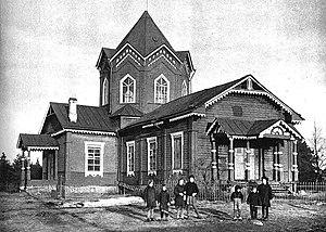 Krakolye - A church in Krakolye in 1943