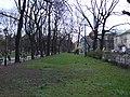 Krakov, Stare Miasto, sady v okolí centra města.JPG