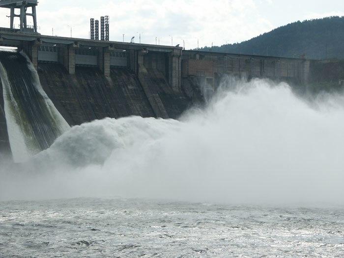 Krasnoyarsk hydroelectric station