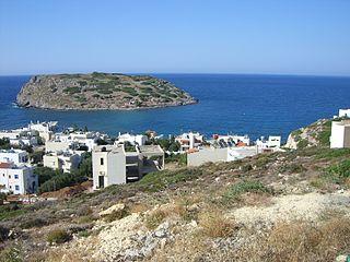 Mochlos village in Greece