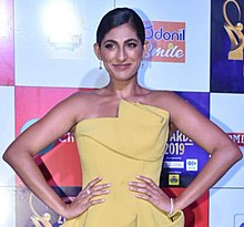 Kubbra Sait graces the Zee Cine Awards, 2019.jpg