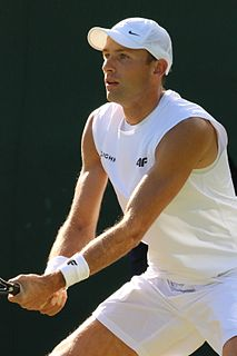 Łukasz Kubot Polish tennis player