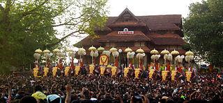 Thrissur Pooram Indian festival
