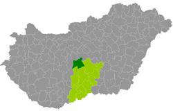 kunszentmiklós térkép Kunszentmiklósi járás – Wikipédia kunszentmiklós térkép