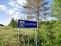 Kuortane municipal border sign.jpg