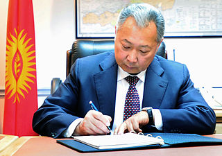 20th and 21st-century Kyrgyzstani politician
